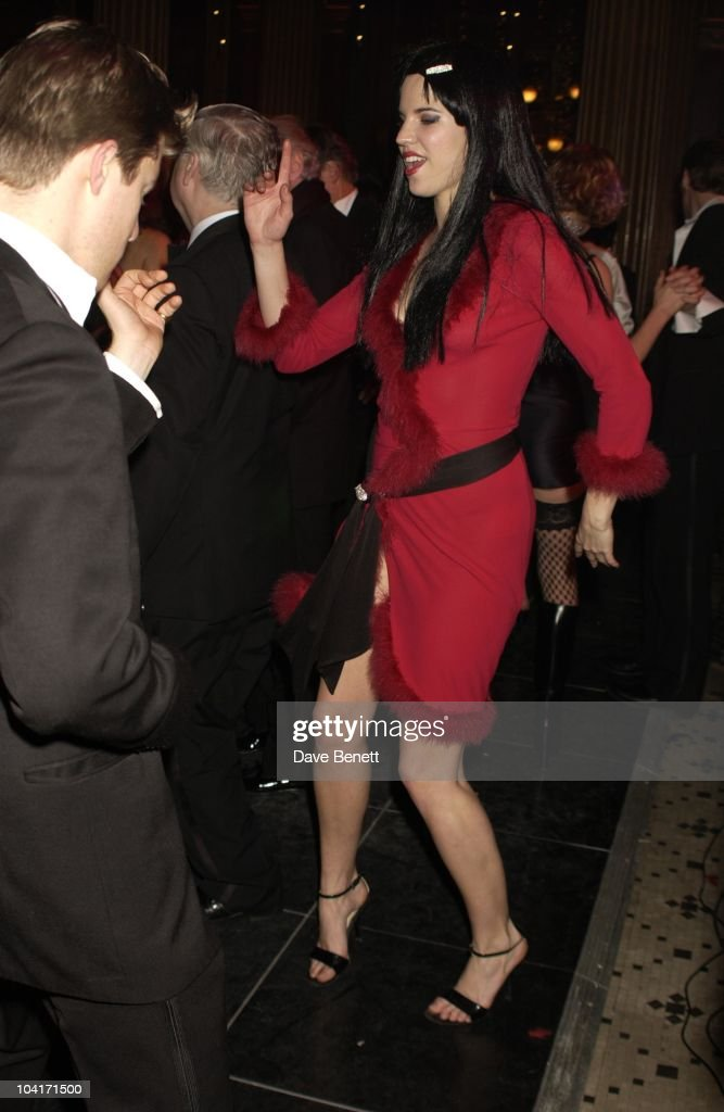 Alexandra Aitken, Hong Kong Financier Andy Wong And His Wife Pattie Throw Their Annual Chinese New Year Party. In Fancy Dress The Dress Code Was Mystery Vamp And Seduction And Most Of Londons Society Turned Up To A Mysterious Event In The Same Theme As 'Eyes Wide Shut' With Masked Young Women With Very Little On, As Prince Andrew Found Out.!
