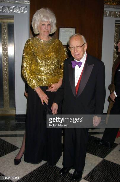 Alexandra and Arthur M Schlesinger Jr during The 30th Anniversary of The New Yorker For New York Awards Benefitting Citzens For NYC at The Waldorf...