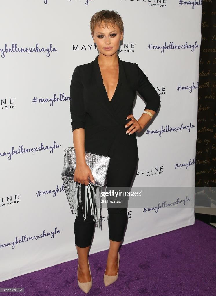 Alexandra Anele attends Maybelline's Los Angeles Influencer Launch Event at 1OAK on August 10, 2017 in West Hollywood, California.