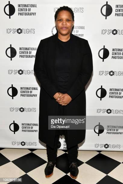 Alexandra Bell attends the ICP Spotlights Luncheon Honoring Mickalene Thomas on October 23 2018 in New York City