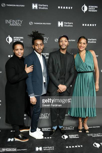 Alexandra Bell Jonathan Gardenhire Antwaun Sargent and Isolde Brielmaier attend the International Center of Photography's 2018 Infinity awards on...