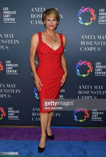 Alexandra Billings attends the grand opening of the Los Angeles LGBT Center's Anita May Rosenstein Campus on April 07 2019 in Los Angeles California