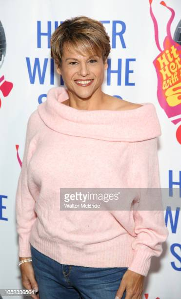Alexandra Billings attends the Meet the Cast of 'Hit Her WithThe Skates' at the Bowlmor Times Square on October 16 2018 in New York City