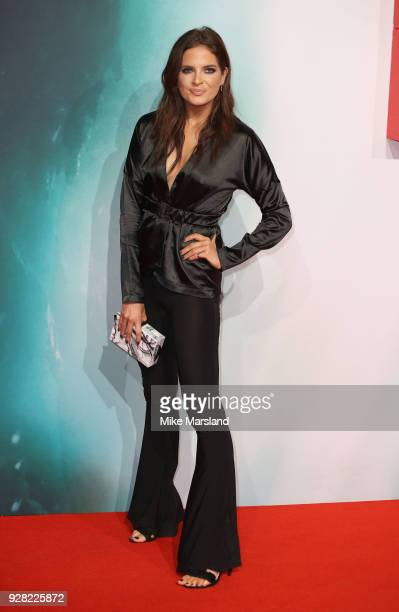 Alexandra ' Binky' Felstead attends the European premiere of 'Tomb Raider' at Vue West End on March 6 2018 in London England