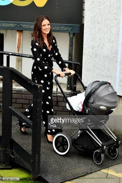 Alexandra 'Binky' Felstead seen at the ITV Studios on January 25 2018 in London England