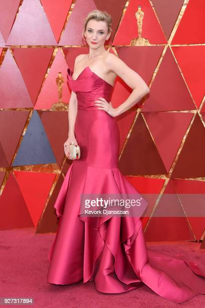 Alexandra Borbely attends the 90th Annual Academy Awards at Hollywood Highland Center on March 4 2018 in Hollywood California