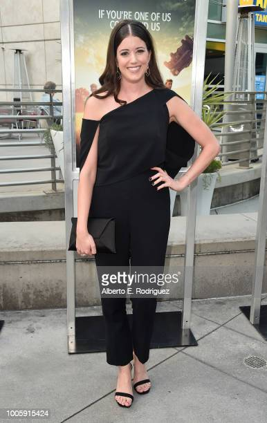 Alexandra Bracken attends a screening of 20th Century Fox's Darkest Minds at ArcLight Hollywood on July 26 2018 in Hollywood California
