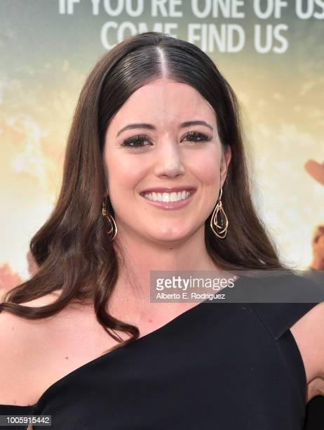 Alexandra Bracken attends a screening of 20th Century Fox's 'Darkest Minds' at ArcLight Hollywood on July 26 2018 in Hollywood California