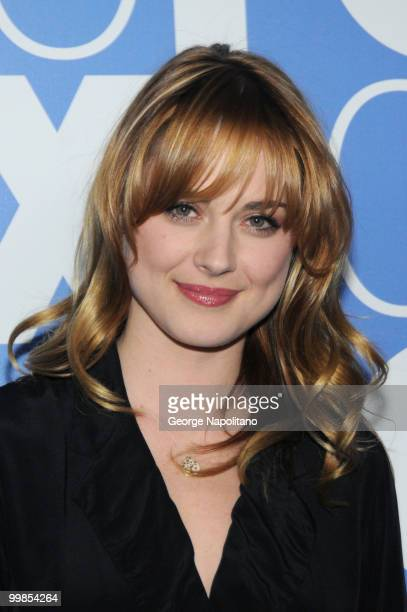 Alexandra Breckenridge attends the 2010 FOX UpFront after party at Wollman Rink Central Park on May 17 2010 in New York City