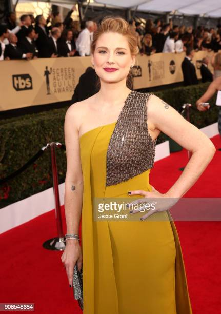 Alexandra Breckenridge attends the 24th Annual Screen ActorsGuild Awards at The Shrine Auditorium on January 21 2018 in Los Angeles California