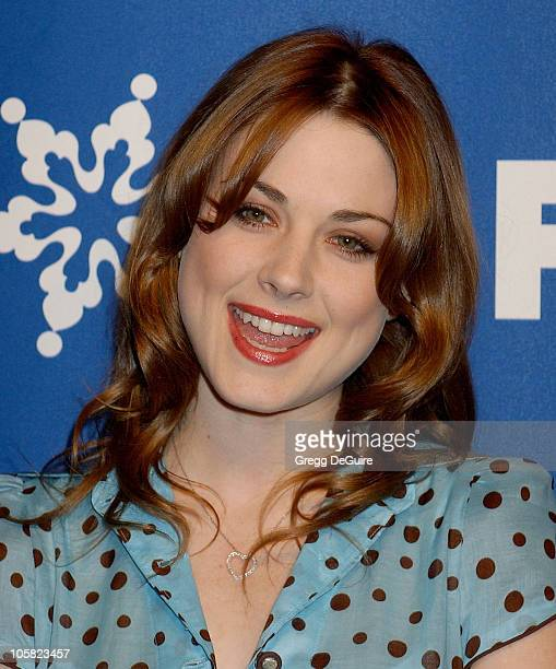 Alexandra Breckenridge during 2007 Fox AllStar Winter TCA Party Arrivals at Villa Sorriso in Pasadena California United States