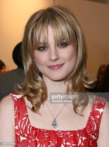 Alexandra Breckenridge during Alex Prager's 'Polyester' Opening at Robert Berman Gallery in Santa Monica April 19 2007 at Robert Berman Gallery in...