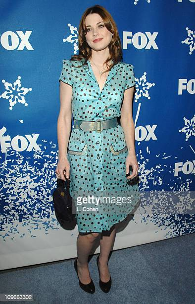 Alexandra Breckenridge during The Fox AllStar Winter 2007 TCA Press Tour Party Red Carpet and Inside at Villa Sorriso in Pasadena California United...
