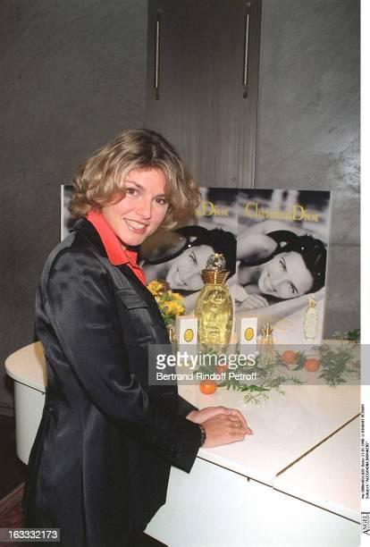 Alexandra Bronkers at theEau Dolce Vitta By Dior Fragrance Launch Lunch At Maison Blanche In Paris