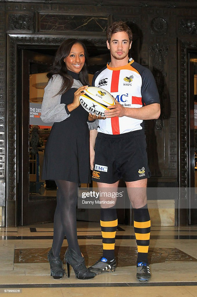 Alexandra Burke And London Wasps Launch St Georges Day Rugby Match