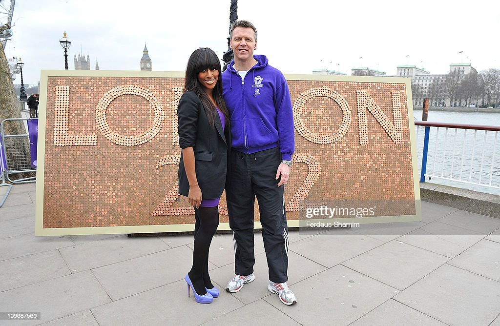 Alexandra Burke and Steve Backley Launch Cadbury Spots v Stripes