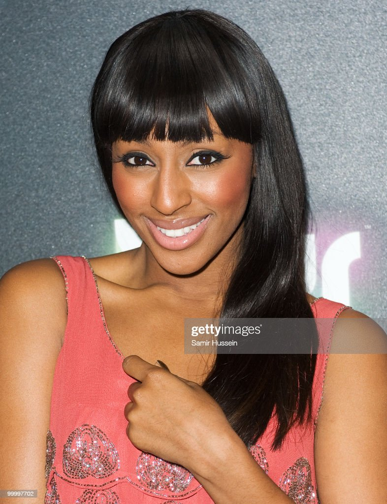 Alexandra Burke arrives at the Blur video game launch party at Sound on May 19, 2010 in London, England.