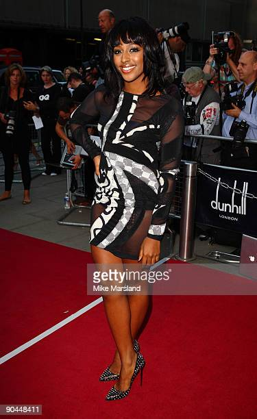 Alexandra Burke arrives for the 2009 GQ Men Of The Year Awards at The Royal Opera House on September 8, 2009 in London, England.