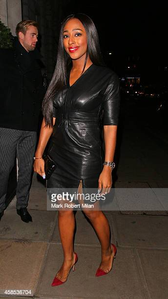 Alexandra Burke at the Edition Hotel on November 6 2014 in London England