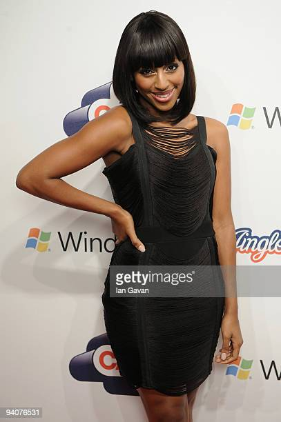 Alexandra Burke attends the Capital FM Jingle Bell Ball Day 2 at 02 Arena on December 6 2009 in London England