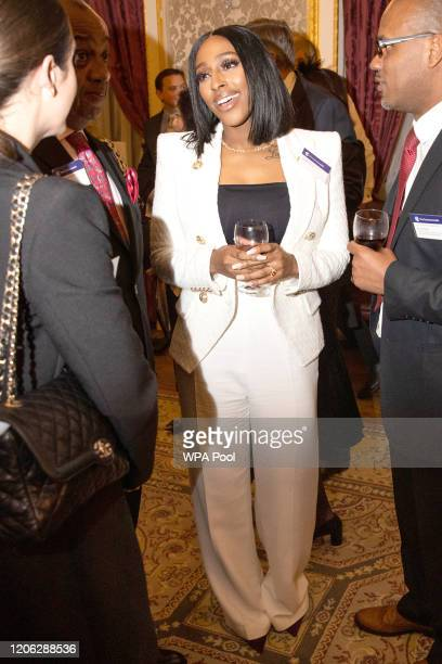 Alexandra Burke attends the Commonwealth Day reception 2020 on March 9 2020 in London England