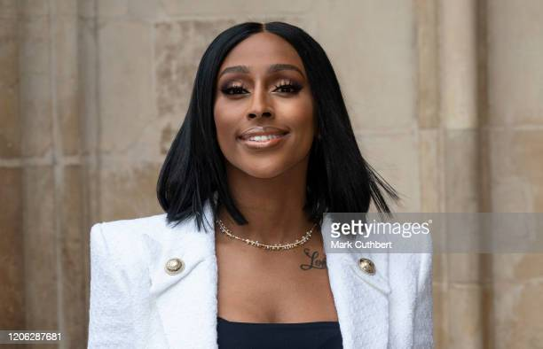 Alexandra Burke attends the Commonwealth Day Service 2020 at Westminster Abbey on March 9 2020 in London England