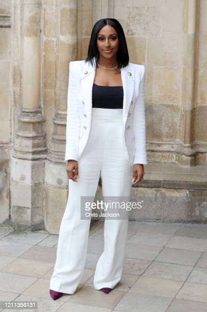 Alexandra Burke attends the Commonwealth Day Service 2020 at Westminster Abbey on March 09 2020 in London England The Commonwealth represents 24...
