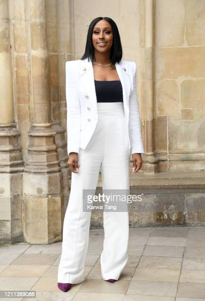 Alexandra Burke attends the Commonwealth Day Service 2020 at Westminster Abbey on March 09, 2020 in London, England.