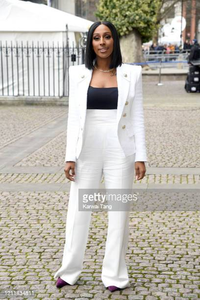 Alexandra Burke attends the Commonwealth Day Service 2020 at Westminster Abbey on March 09 2020 in London England