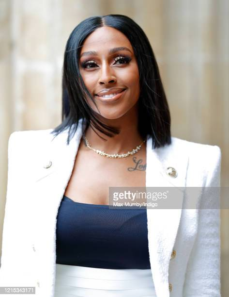 Alexandra Burke attends the Commonwealth Day Service 2020 at Westminster Abbey on March 9 2020 in London England The Commonwealth represents 24...