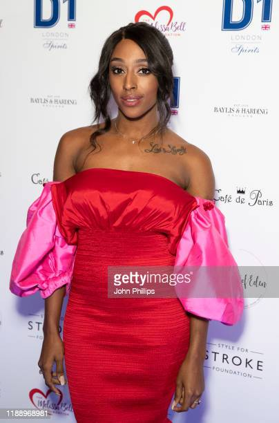 Alexandra Burke attends the Fall Ball 2019 at Cafe de Paris on November 20 2019 in London England