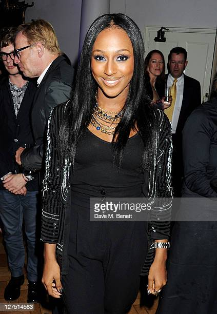 Alexandra Burke attends the Quintessentially Awards 2011 at One Marylebone on September 28 2011 in London England