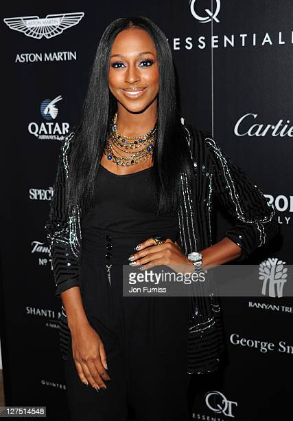 Alexandra Burke attends the Quintessentially Awards at One Marylebone on September 28 2011 in London England