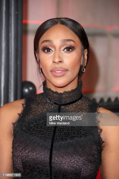 Alexandra Burke attends The Sun Military Awards 2020 at Banqueting House on February 6 2020 in London England