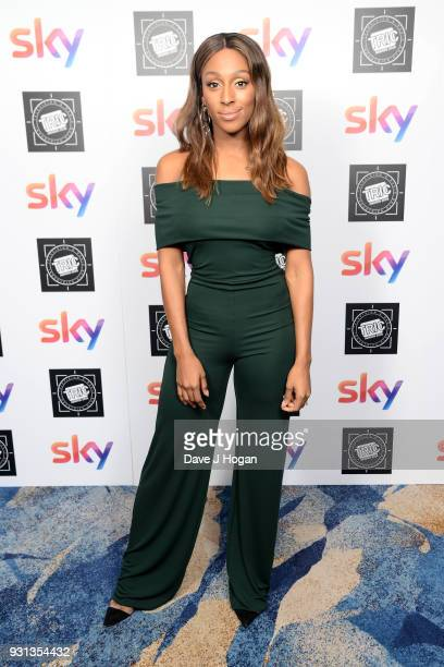 Alexandra Burke attends the TRIC Awards 2018 held at The Grosvenor House Hotel on March 13 2018 in London England