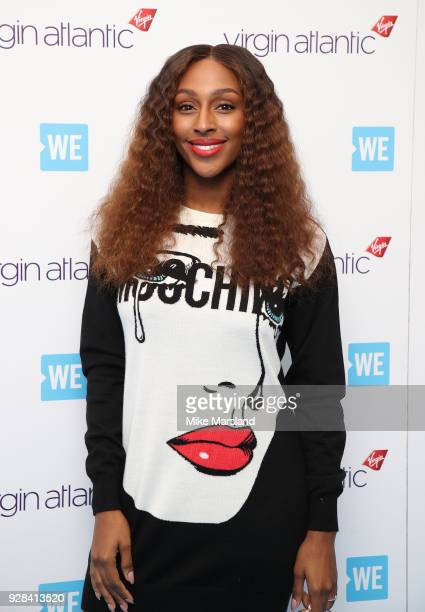 Alexandra Burke attends 'We Day UK' at Wembley Arena on March 7 2018 in London England