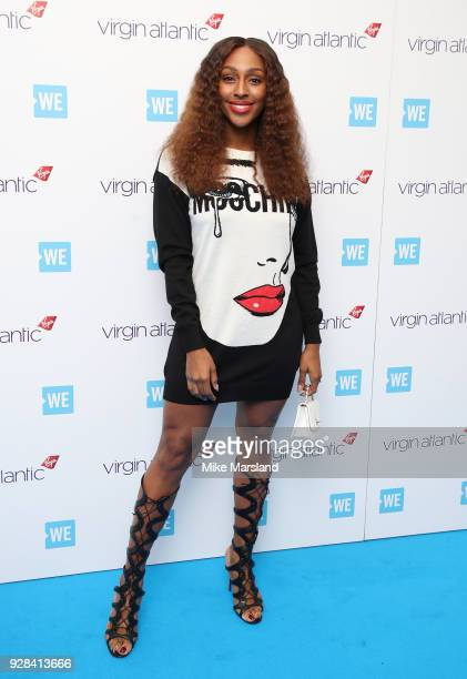 Alexandra Burke attends 'We Day UK' at Wembley Arena on March 7, 2018 in London, England.