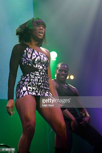 Alexandra Burke performs at Girlguiding UK's Big Gig at Wembley Arena on October 17, 2009 in London, England.