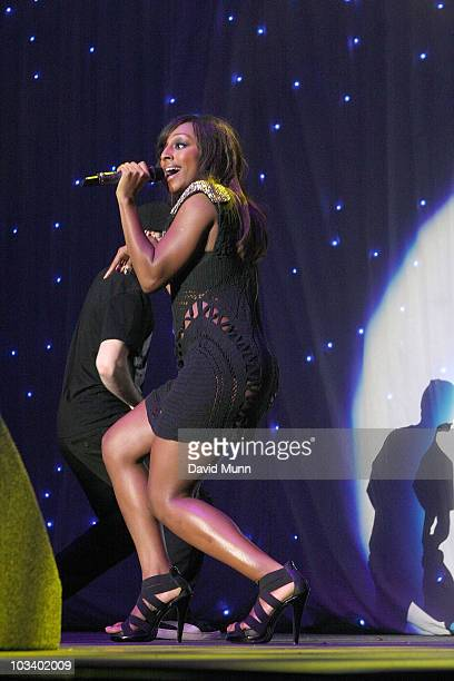 Alexandra Burke performs at Radio City LIVE! at The Liverpool Echo Arena on August 15, 2010 in Liverpool, England.