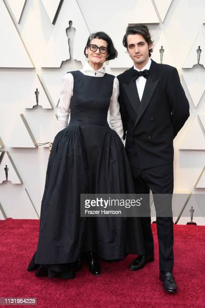 Alexandra Byrne and guest attends the 91st Annual Academy Awards at Hollywood and Highland on February 24 2019 in Hollywood California