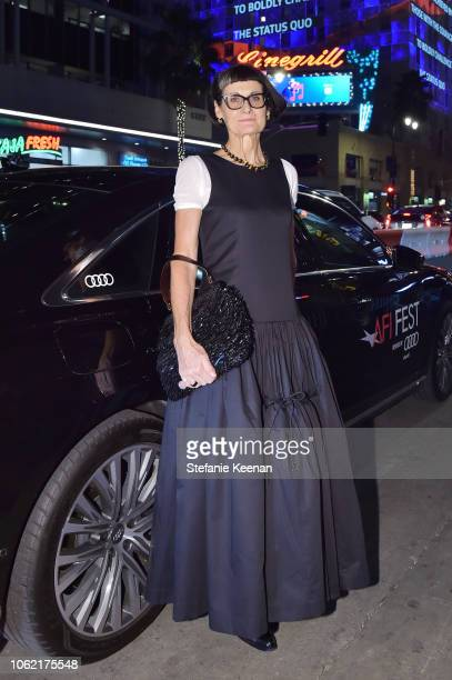 Alexandra Byrne arrives at AFI FEST 2018 for the World Premiere of 'Mary Queen of Scots' presented by Audi on November 15 2018 in Hollywood California