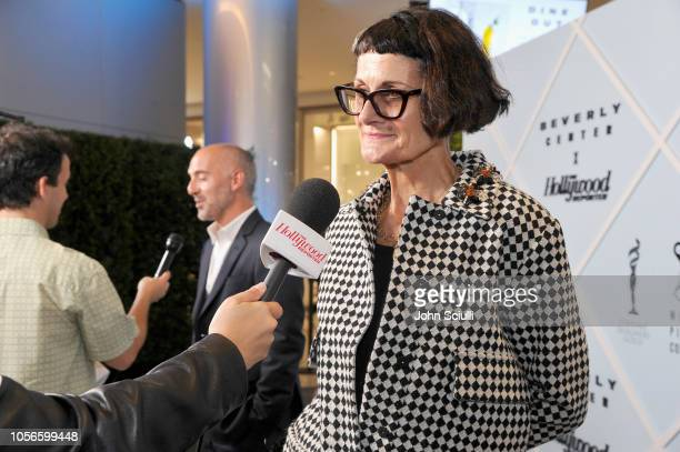 Alexandra Byrne arrives at Beverly Center's Grand Reveal Weekend Candidly Costumes with The Hollywood Reporter at Beverly Center on November 2 2018...