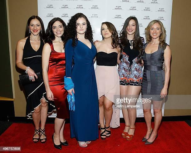Alexandra Callas Talya Mar Jessa Campbell Natalia Davidenko Andi Morrow and Saskia Larsen attend '10 Days In A Madhouse' New York premiere at AMC...
