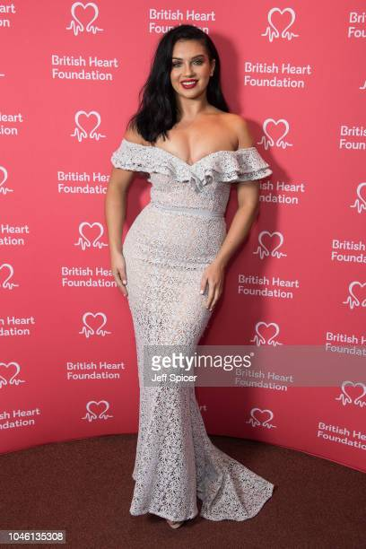 Alexandra Cane attends the British Heart Foundation's 'Heart Hero' awards at Underglobe on October 5 2018 in London England