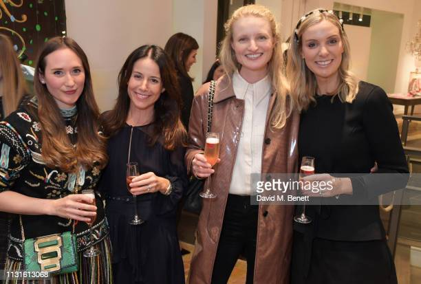 Alexandra Carello Julie Adams Candice Lake and Georgie Abay attend a party celebrating Bonpoint x The Grace Tales at the Bonpoint Marylebone store on...