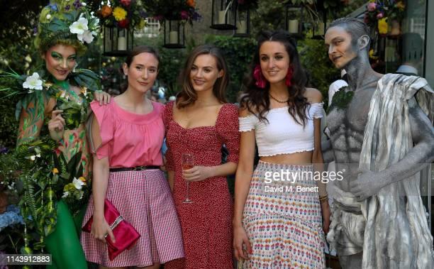 Alexandra Carello Niomi Smart and Rosanna Falconer attend The Ivy Chelsea Garden's Summer Garden Party on May 14 2019 in London England