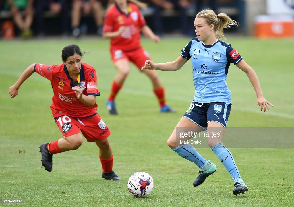 W-League Rd 9 - Adelaide v Sydney : News Photo