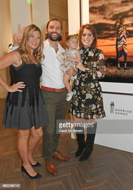 Alexandra Chong Jack Brockway and Princess Eugenie of York attend the Warrior Games Exhibition VIP preview party sponsored by Chantecaille and hosted...