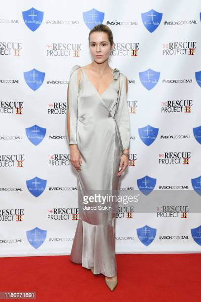 Alexandra Chorna attends The 3rd Annual Vision 2020 Ball By The Rescue Project Haven Hands Inc Brought To You By AMAZZZING HUMANS at 4W43 on November...