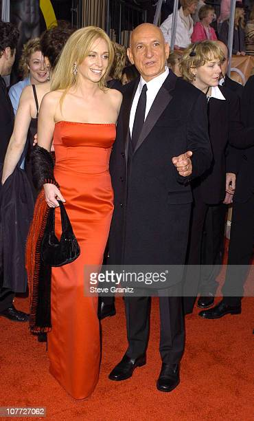 Alexandra Christmann and Ben Kingsley during 10th Annual Screen Actors Guild Awards - Arrivals at Shrine Auditorium in Los Angeles, California,...